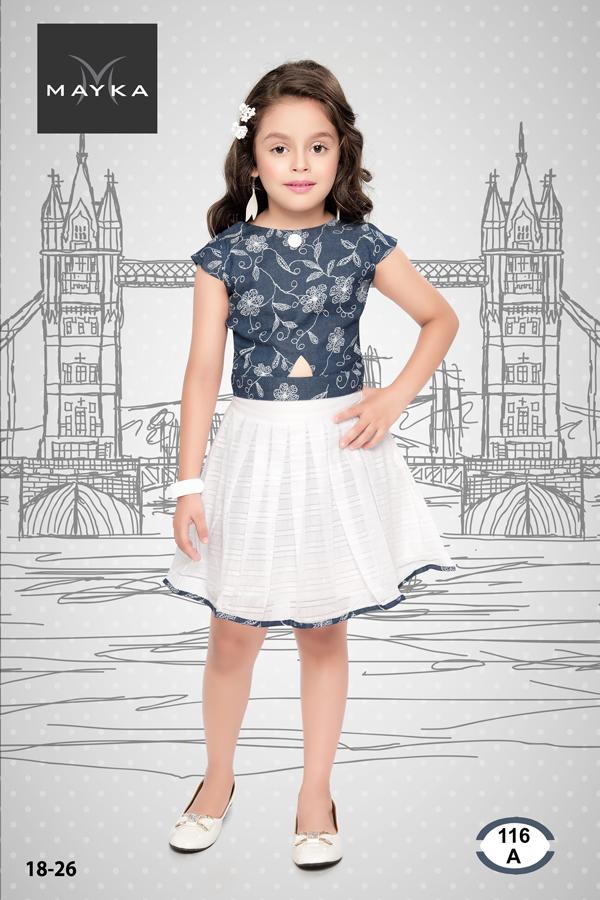 96c6d34a68 Girls Skirt & Top , Girls Designer Skirt & Top Manufacturers